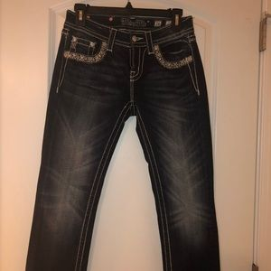 Miss Me Mid-Rise Cropped Stretch Jean Size 26